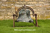 Bell at the Old Rock Church, Iowa County, Wisconsin