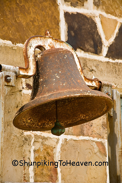 Rusty Bell on Old Lodge Building, Searcy County, Arkansas