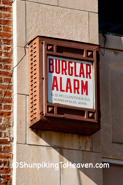 Antique Burglar Alarm, Lawrence County, Illinois