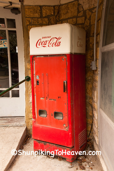 Antique Coca Cola Machine, Madison County, Indiana