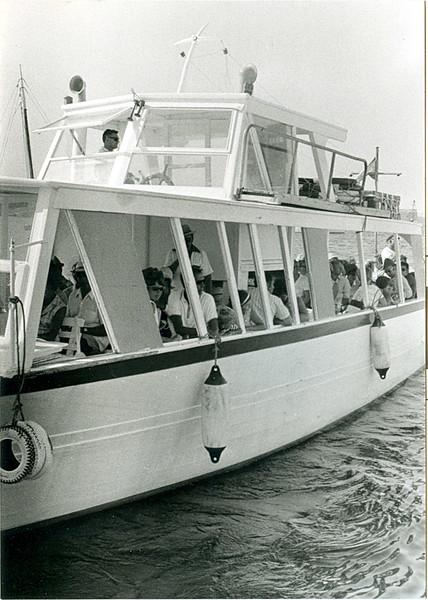 Ferry, Formentera, Spain, 1970