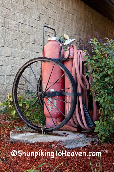 Antique Fire Extinguishing Equipment, Vernon County, Wisconsin
