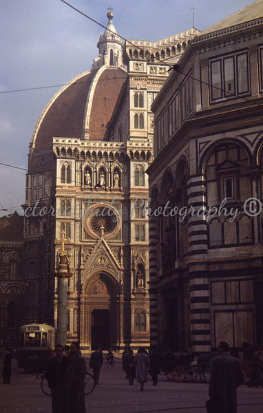 Florence Cathedral ~ 1949<br /> <br /> Taken By Evelyn M. Stillwagon