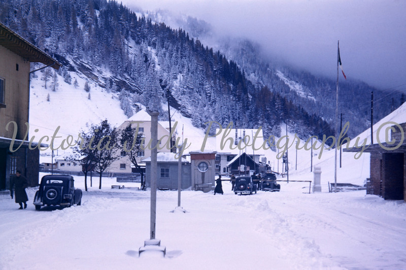 Brenner Pass - Italy & Austria - 1949<br /> <br /> Taken By: Evelyn M. Stillwagon