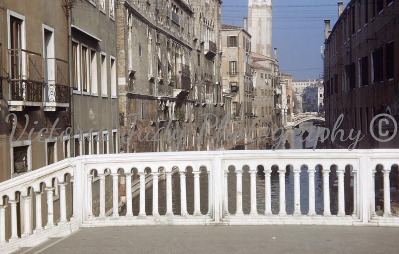 Canal, Venice Italy - 1949<br /> <br /> Taken By: Eveyln M. Stillwagon