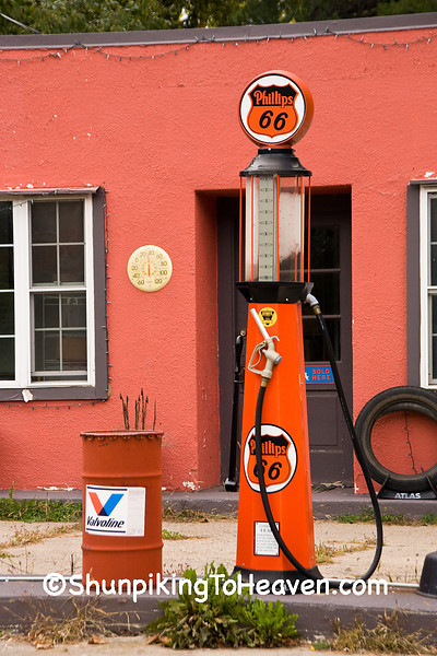 Gas Pump at Old Filling Station, Portage County, Wisconsin