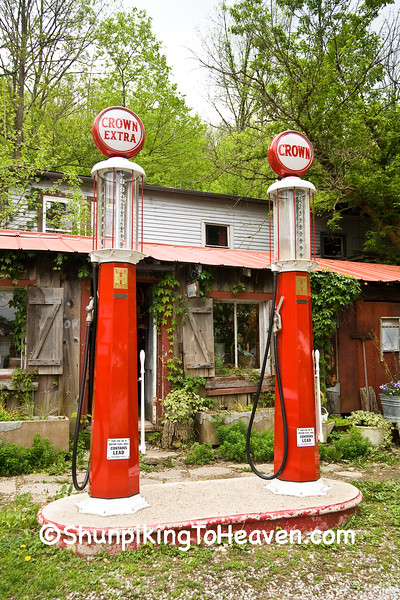 Antique Gas Pumps, Rabbit Hash, Boone County, Kentucky