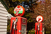 Vintage Sky Chief Gas Pumps, Dwight, Illinois