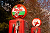 Vintage Texaco Gas Pumps, Dwight, Illinois