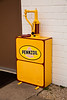 Oil Pump Dispenser, Replica Shell Service Station, Route 66, Dwight, Illinois
