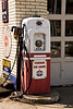 Antique Red Crown Gas Pump, Tippecanoe County, Indiana