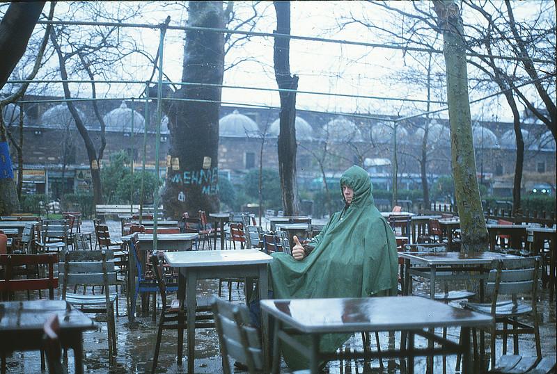 Paul in Istanbul, January 1, 1980