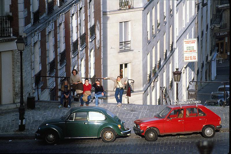 Johnston College in Paris, December 4, 1979.