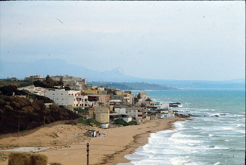 Sicilian village, January 30, 1980