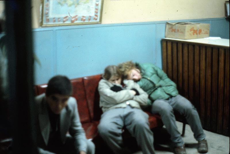 Jena and Kip in Kusadasi (?), January 7, 1980