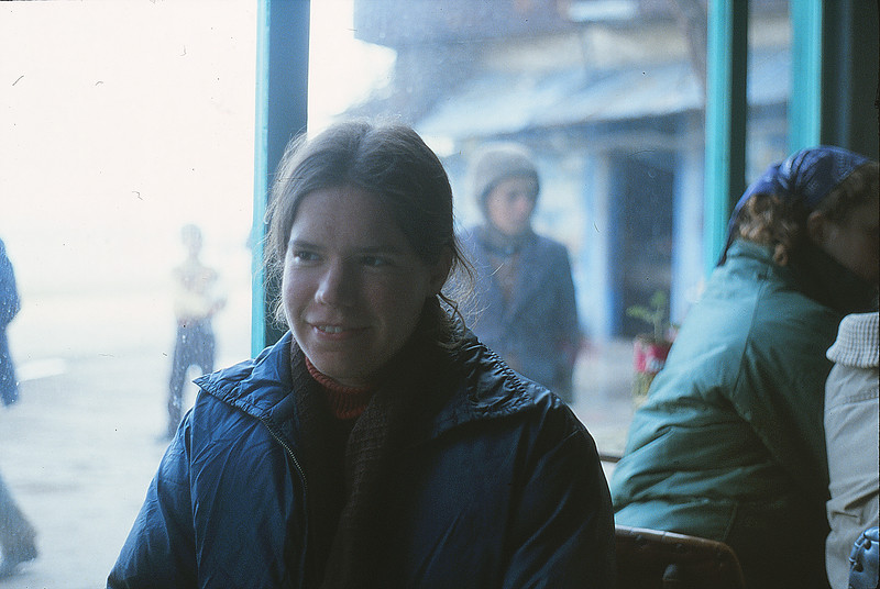 Annie in Canakkale, January 2, 1980