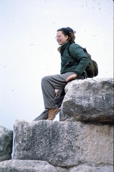 Beth at Didyma, January 7, 1980