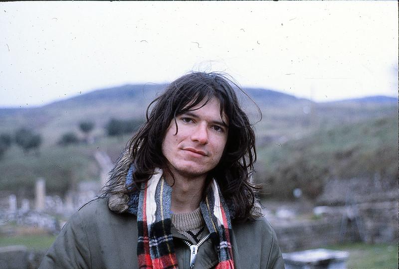 Mark at Pergamon, January 4, 1980