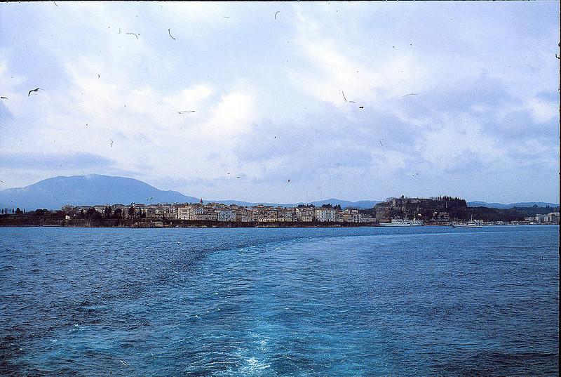 Leaving Patras, January 25, 1980