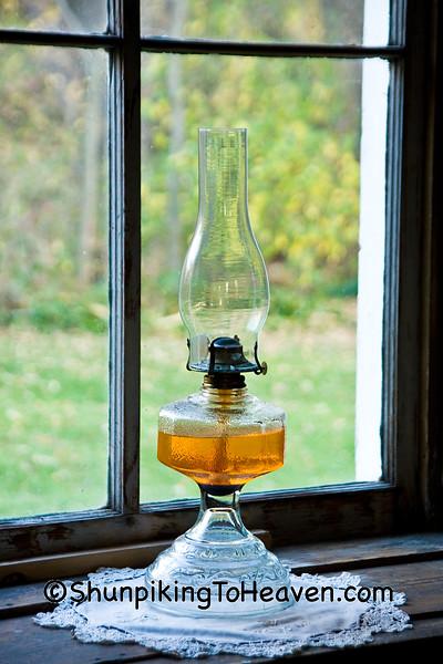 Lantern in the Window, Lenora United Methodist Church, Filmore County, Minnesota