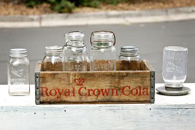 Box of Mason Jars