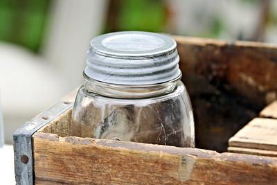 Old Glass Jar