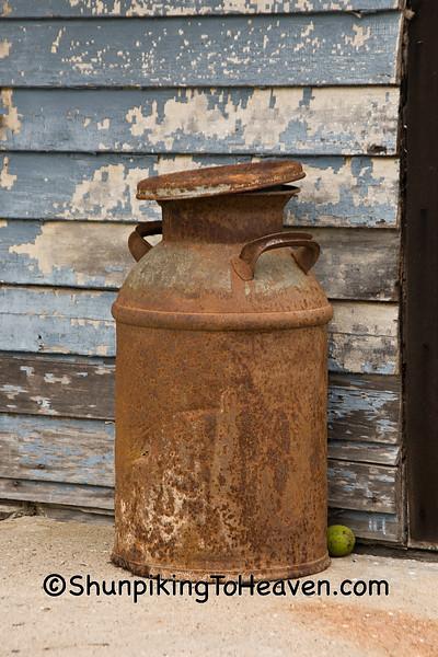 Rusty Milk Can, Filmore County, Minnesota