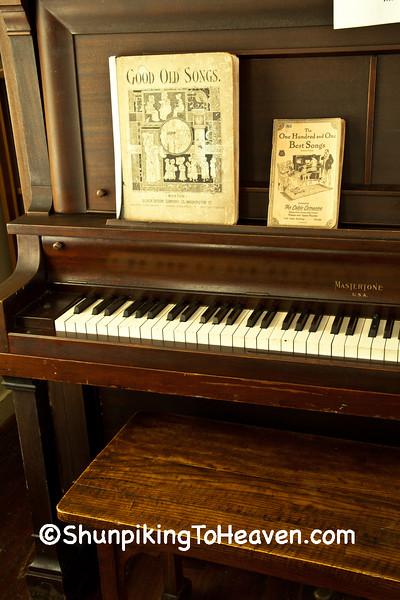 Upright Piano, Halfway Prairie School, Dane County, Wisconsin