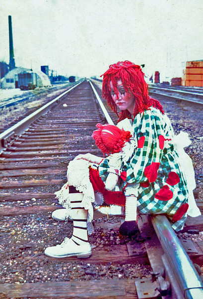 Raggedy Jane, Champaign Illinois, 1968