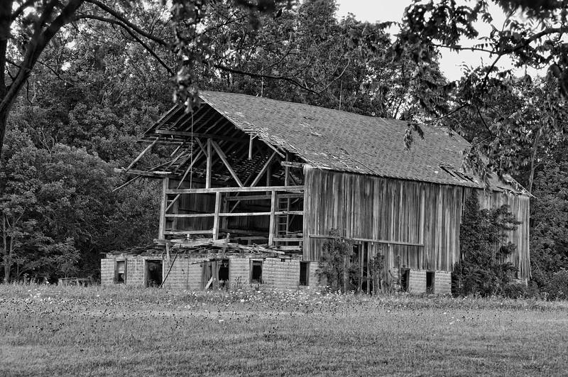 Delapidated Barn