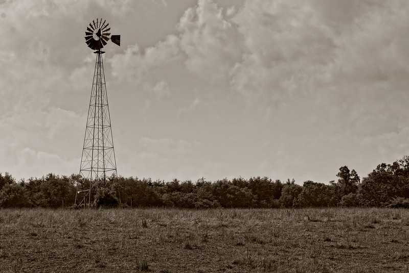 Working Windmill...located near Atwood Ohio