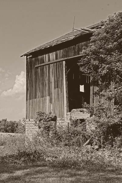 Country Barn in Ohio