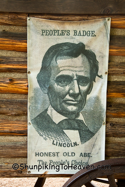 Lincoln Campaign Poster, Springfield, Illinois