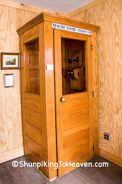 1930s Era Telephone Booth, Filmore County, Minnesota