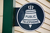 Antique Public Telephone Sign, Trempealeau County, Wisconsin