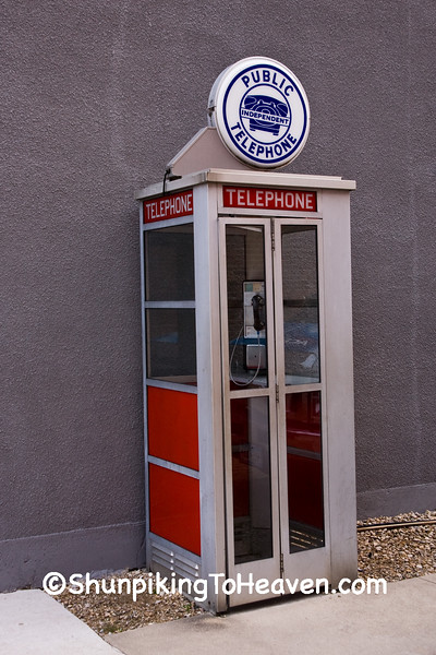 Antique Phone Booth, Filmore County, Minnesota