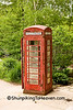 Old British Phone Booth, Iowa County, Wisconsin