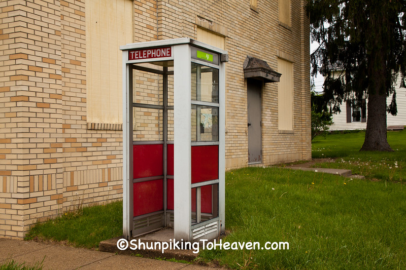 Vintage Phone Booth, Licking County, Ohio