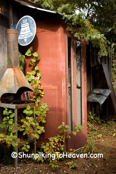 Antique Telephone Booth, Oconto County, Wisconsin