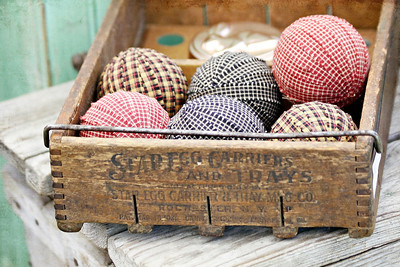 Decorative Fabric Balls