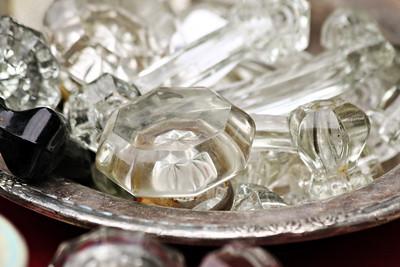 Glass Doorknobs