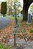 Old Water Pump, Evergreen Cemetery, Menomonie, Wisconsin