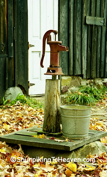 Water Pump at the Shack, Leopold Memorial Reserve, Sauk County, Wisconsin