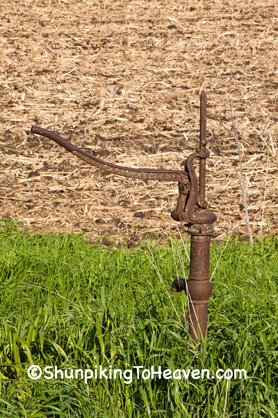 Water Pump at Eli Valley School, Sauk County, Wisconsin