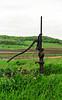 Old-Fashioned Pump at Upper Wilson Creek School, Sauk County, Wisconsin