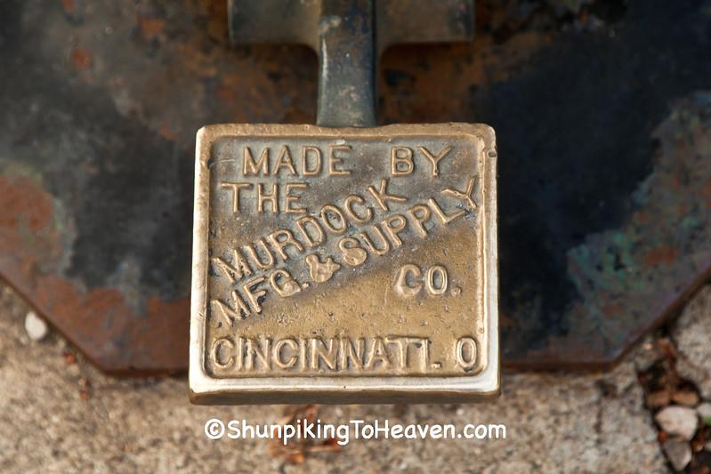 Foot Pedal on Antique Drinking Fountain,  Cincinnati, Ohio