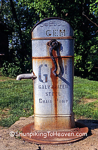 GEM Water Pump at Rabbit Hash General Store, Boone County, Kentucky
