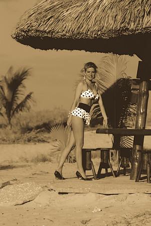 Vintage glamor bikini