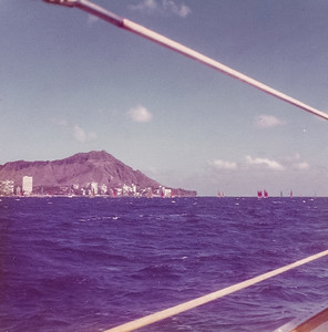 Sailing Waikiki 1976