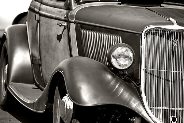 Front Fender of an antique car